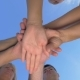 People With Hands Together - VideoHive Item for Sale