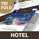 Hotel Trifold Brochure 5 - GraphicRiver Item for Sale