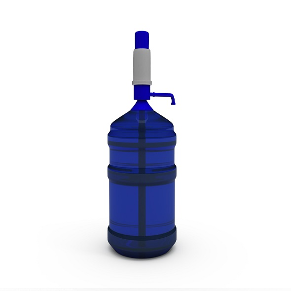 Water Pump With Gallon Bottle - 3DOcean Item for Sale