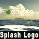 Splash Logo in Ocean - VideoHive Item for Sale