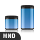 Creatine Canisters Mockup - GraphicRiver Item for Sale