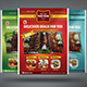 Restaurant & Food Menu Flyer  Nulled