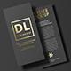 DL Flyer Mock-Up / Foil Stamping Edition - GraphicRiver Item for Sale