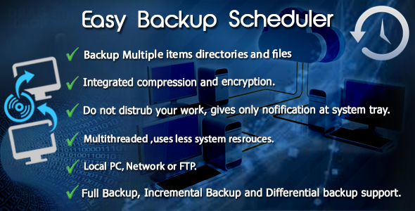 Easy Backup Scheduler - CodeCanyon Item for Sale