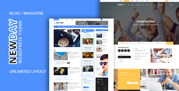 Newday - Html Template - Site Templates