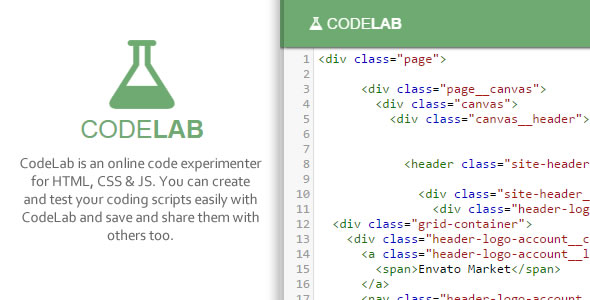 CodeLab - Online Coding Playground  - CodeCanyon Item for Sale
