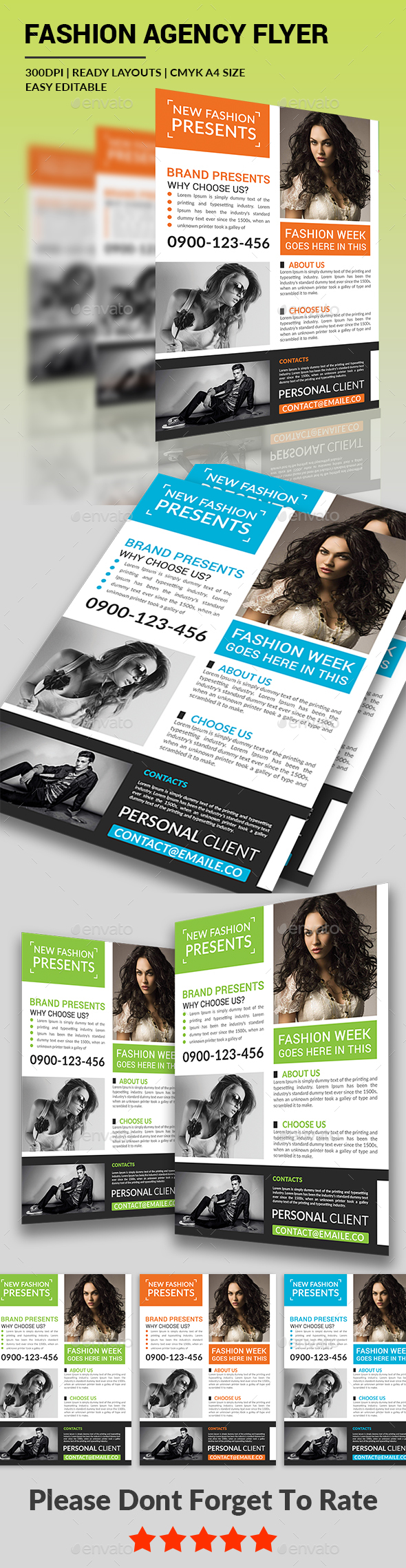 Fashion Agency Flyer - Corporate Flyers