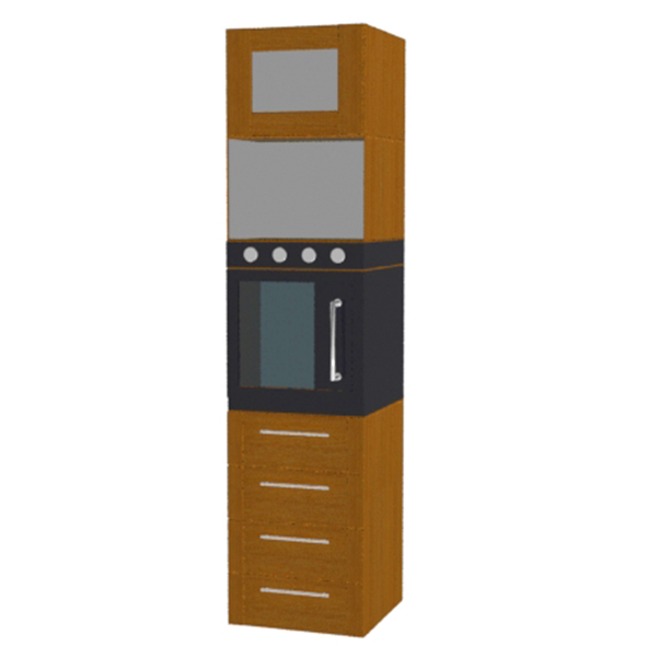 a kitchen furniture - 3DOcean Item for Sale
