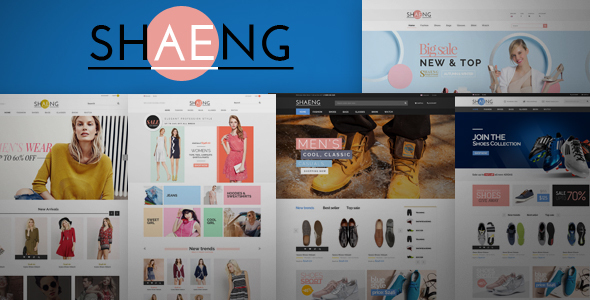 Shaeng - eCommerce Fashion Template - Fashion Retail