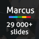 Marcus Powerpoint Presentation Template - GraphicRiver Item for Sale