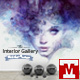 Interior Gallery - Wall Art and Frames Mockups - GraphicRiver Item for Sale
