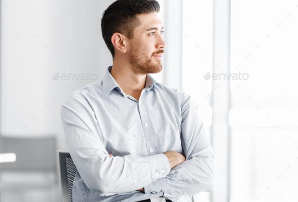 Portrait of businessman - Stock Photo - Images
