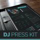 DJ Resume Press Kit - GraphicRiver Item for Sale