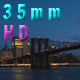 Freedom Tower And Brooklyn Bridge Sunrise - VideoHive Item for Sale