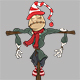 Set of Cartoon Scarecrows for your Design  - GraphicRiver Item for Sale