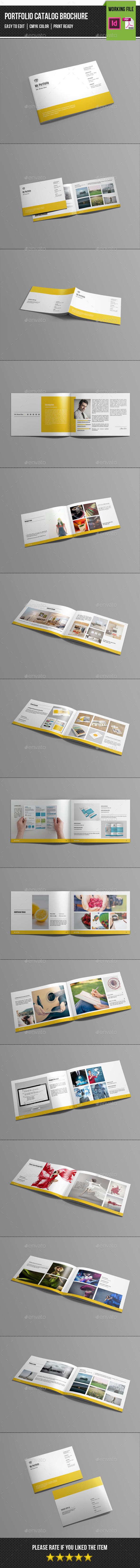 Minimal Portfolio Catalog/Brochure-V193 - Catalogs Brochures