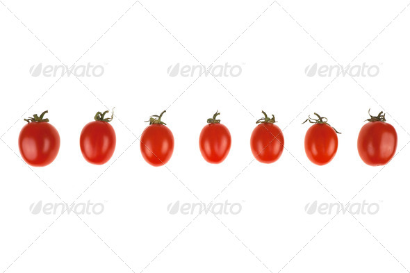 Cikito Italian Tomatoes from Sicily - Stock Photo - Images