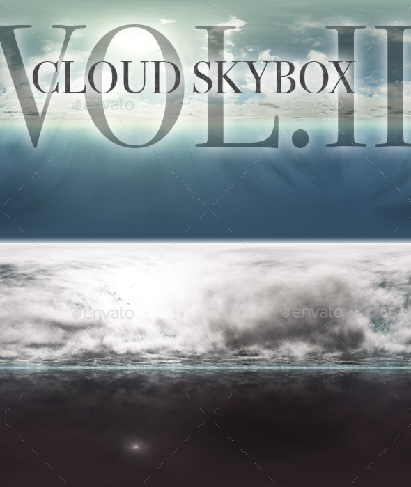 Cloud Skybox Pack Vol.II - 3DOcean Item for Sale