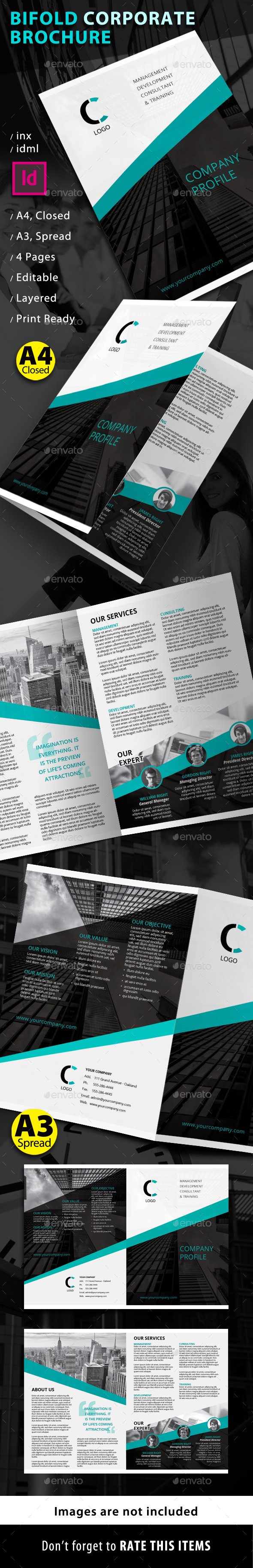 Bifold Corporate Brochure - Corporate Brochures