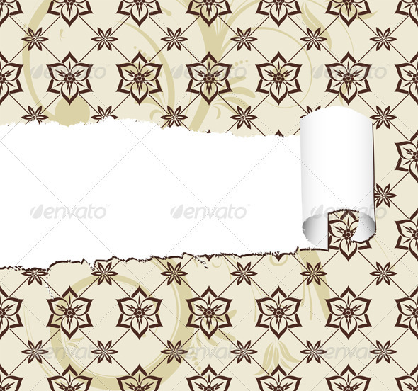 Floral Background - Decorative Vectors