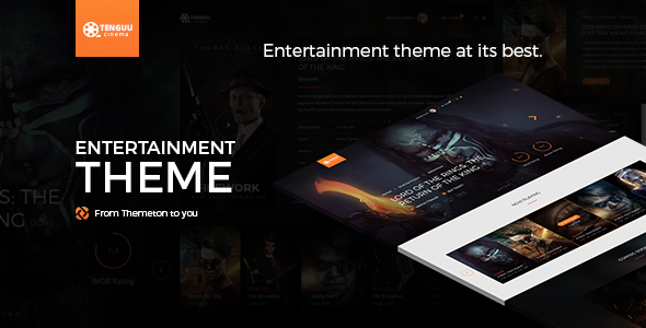 Tenguu Cinema – Movie Theater Template