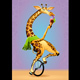 Giraffe on an Unicycle - GraphicRiver Item for Sale