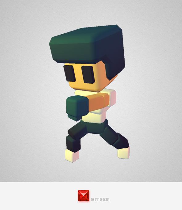 Generic Boy - Smashy Craft Series - 3DOcean Item for Sale