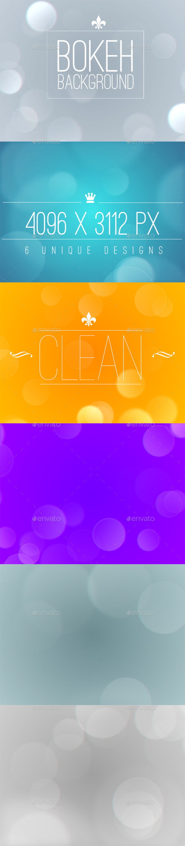 Bokeh - Abstract Backgrounds