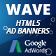 HTML5 Animated Banner Templates | «WAVE banner»  | Edge Animate