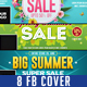 10 Spring Summer Sale Facebook Cover - GraphicRiver Item for Sale