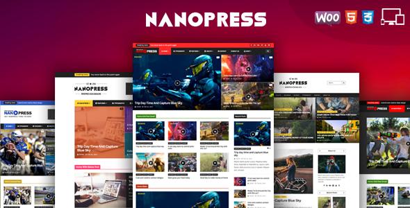 Nanopress - Responsive Personal Blog