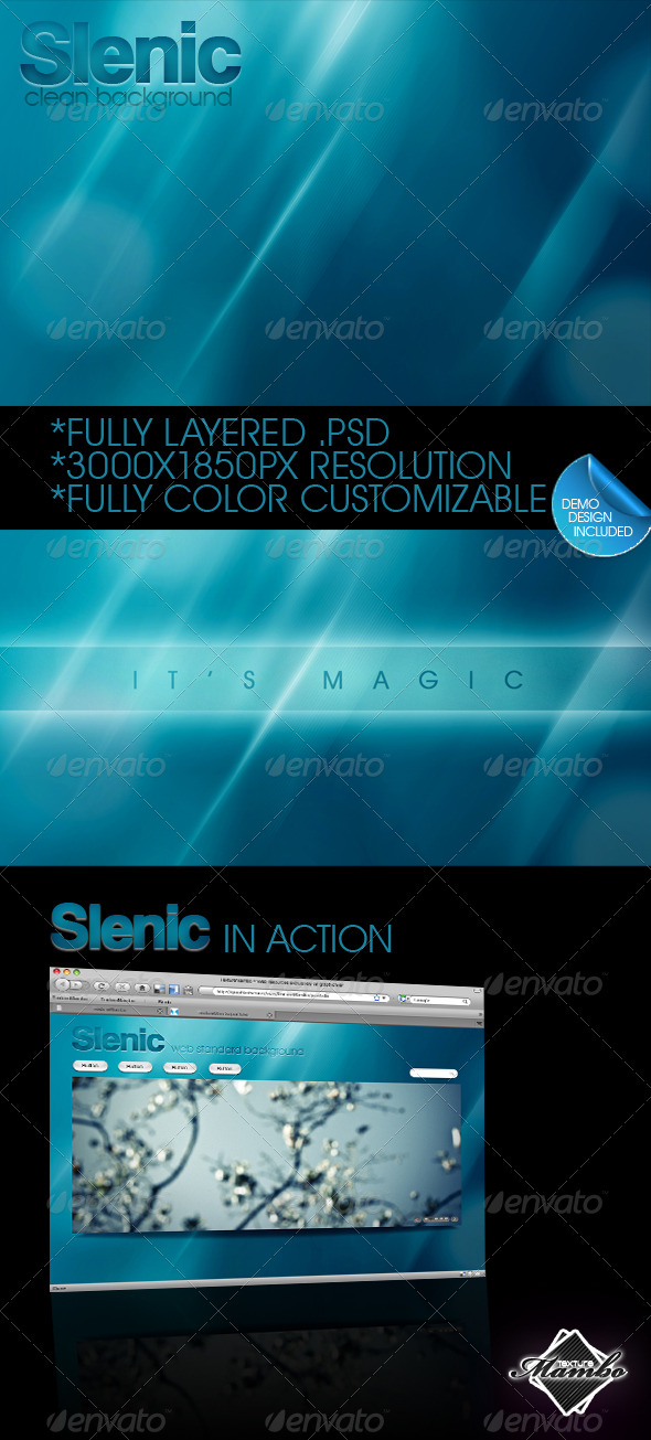 Slenic - Web background 2.0 - Abstract Backgrounds