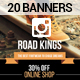 20 Fashion Instagram Banners - GraphicRiver Item for Sale