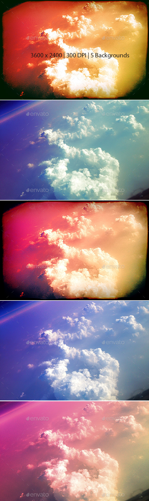 Colorful Sky Backgrounds  - Abstract Backgrounds