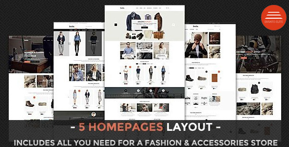 Smile – Multipurpose Drupal Shop Theme