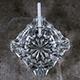 Cigarette Burns Quickly in a Glass Ashtray. Cigarette Smokes - VideoHive Item for Sale
