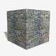Shaped Rock Wall Seamless Texture