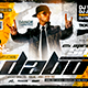 Dj Event Flyer Template - GraphicRiver Item for Sale
