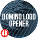 Domino Logo Opener - VideoHive Item for Sale