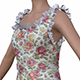 3D female flower dress - 3DOcean Item for Sale
