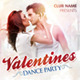 Valentines Dance Party Flyer - GraphicRiver Item for Sale