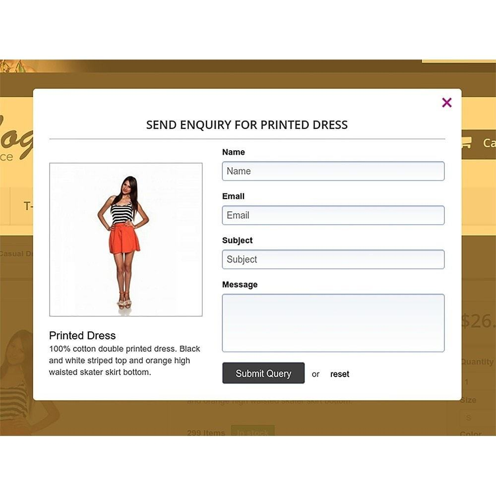 customer enquiry form template