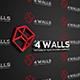 4 walls logo