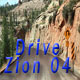 Zion Drive at National Park 01 Full HD - VideoHive Item for Sale