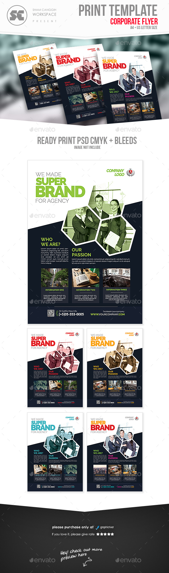 Corporate Agency Flyer  - Corporate Flyers