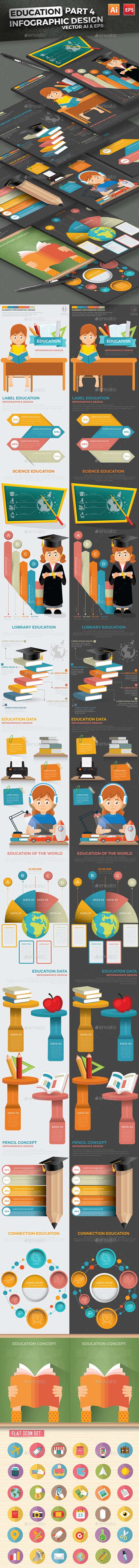 Education Infographics Part 4 Design - Infographics