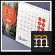 2016+2017 Desk Calendar - GraphicRiver Item for Sale