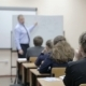 Teacher Teaches In The Classroom - VideoHive Item for Sale