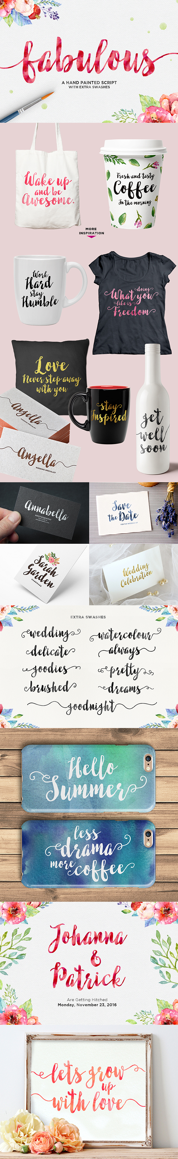 Fabulous Script - Script Fonts