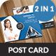 Corporate Post card Bundle - GraphicRiver Item for Sale